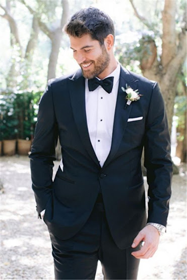 One button wedding Tuxedo