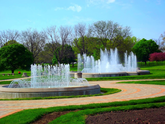 Garfield Park Sunken Gardens Fountains