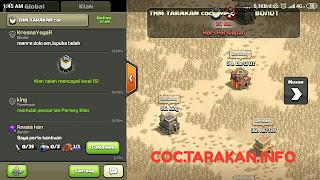 Clan THM TARAKAN coc Telah Mencapai Level 15