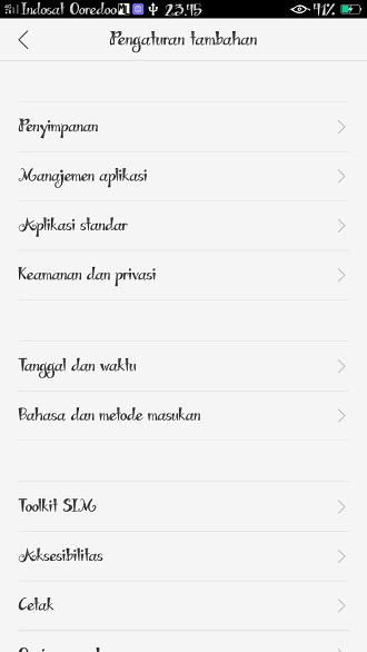 Menghilangkan menu developer options hp Android