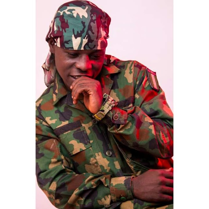 Get  to know the first Military artiste making waves in Nigeria