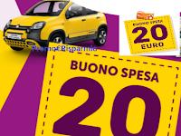 Logo ''Cambia & Vinci'' : 1.000 buoni spesa Conad, Fiat Panda City Cross e 80 soggiorni