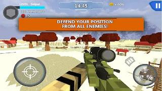 Cube Wars Battle Survival apk mod