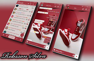 Nike Tenis Shoes Theme For YOWhatsApp & NS WhatsApp By Robsson