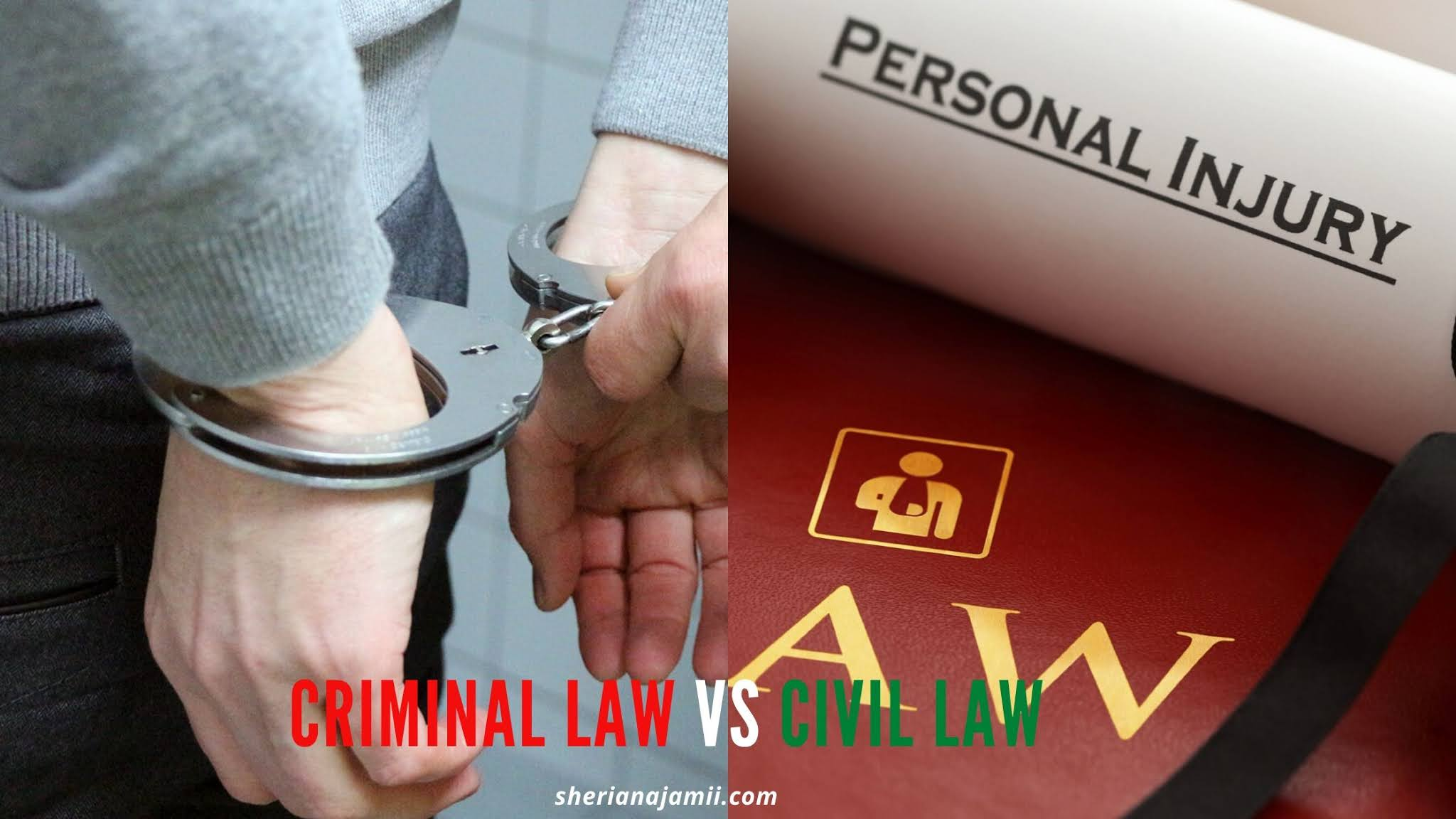 Civil Law Vs Criminal Law: Meaning, Examples, Difference, Similarity and Everything You Must Know