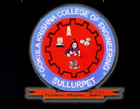 Gokula Krishna College of  Engineering Sullurpet Ranking Details, Fees Format