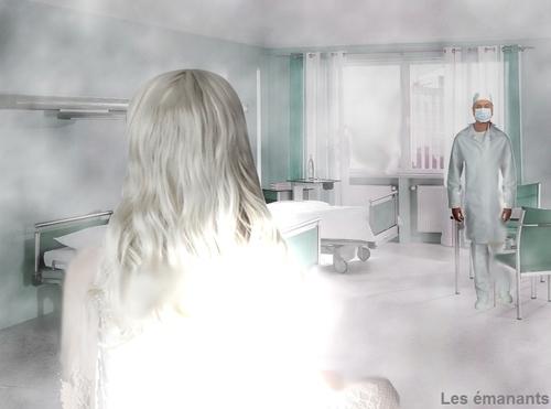 Vision de la dame blanche par le Dr Barnard