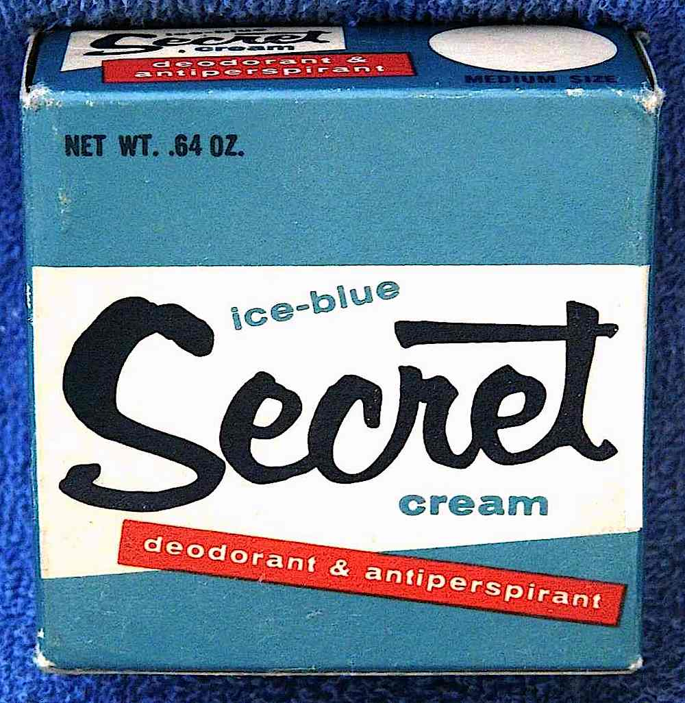 1965 Secret deoderant