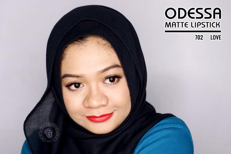 Odessa Matte Lipstick 702 Love