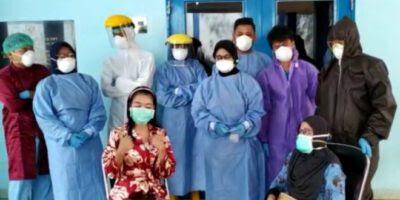Satu Pasien Covid-19 di RS Abdul Moeloek Dinyatakan Sembuh
