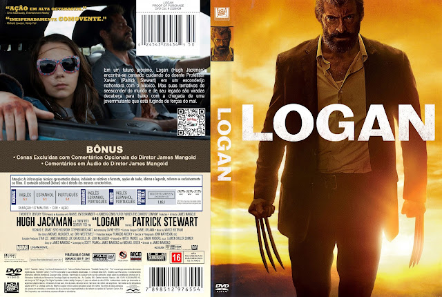 Capa DVD Logan [Custom]
