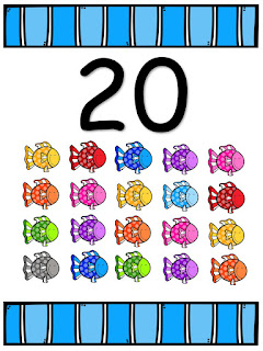 Tarjetas de números para imprimir