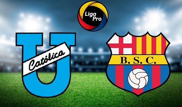 Universidad Católica vs. Barcelona SC EN VIVO