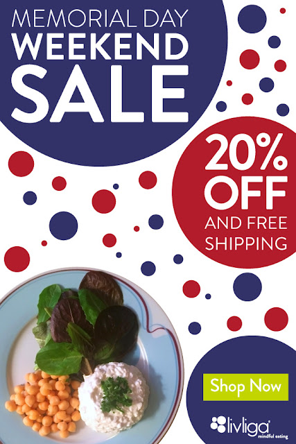Livliga's Portion Control Memorial Day Weekend Sale 2020