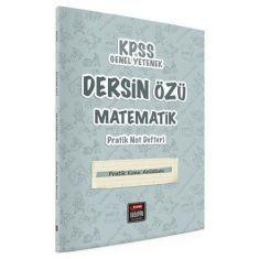 Fem Akademi KPSS Dersin Özü Matematik Pratik Not Defteri (Tüm Adaylar)