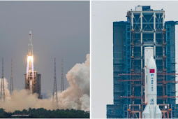 US refuses to shoot down 'out of control' 21-ton Chinese rocket falling to Earth – with crash due TOMORROW
