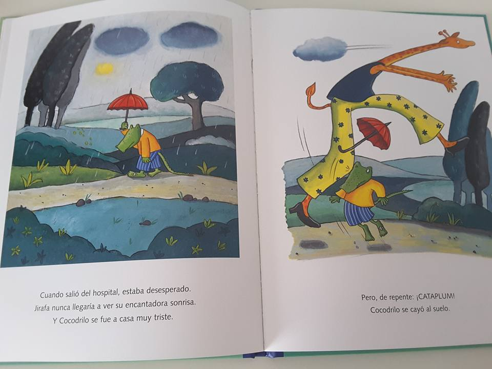 Creciendo con libros y juegos cocodrilo se enamora un for Libro medidas de una casa