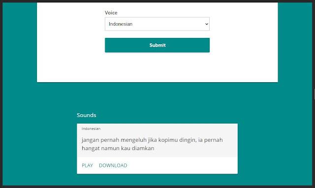 jokes suara google bahasa Indonesia