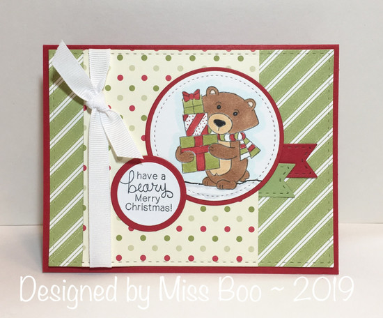 Have a beary Merry Christmas by Miss Boo features Winston's Home for Christmas by Newton's Nook Designs; #newtonsnook