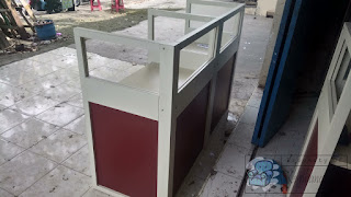 Cubicle Workstation 2 Staff Dan 3 Staff - Furniture Semarang