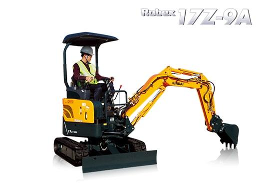 Hyundai Excavators R17Z-9A