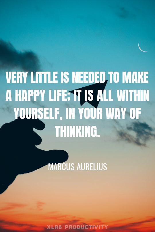 Marcus Aurelius Quotes, tips to be successful in life, What is Success