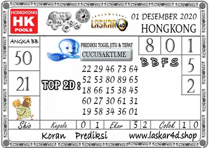 Prediksi Togel HONGKONG LASKAR4D 01 DESEMBER 2020