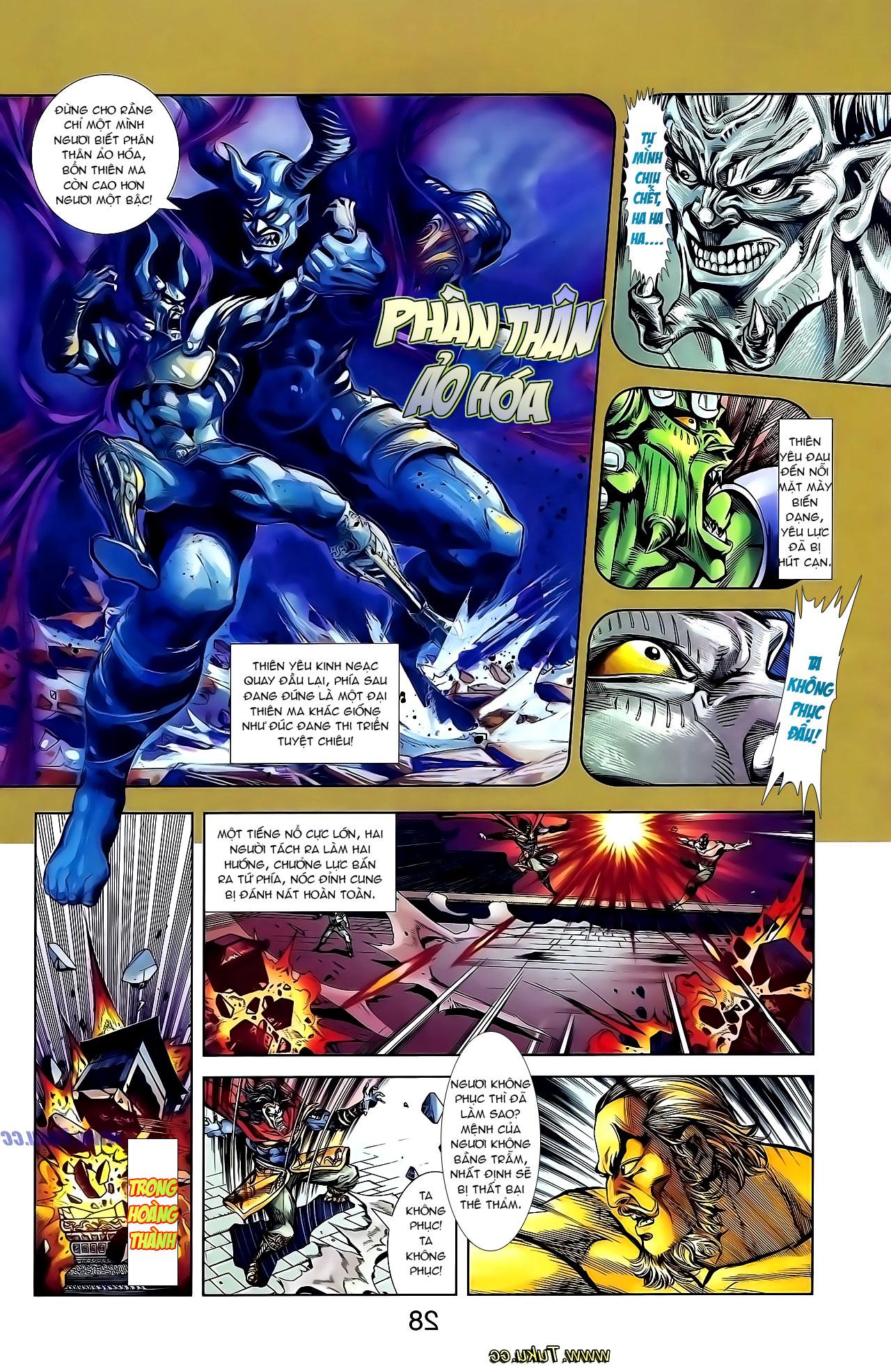 Cơ Phát Khai Chu Bản chapter 136 trang 22