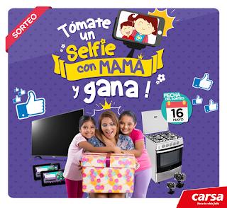 [Sorteo] Gana una tablet, cámara digital, TV LED o cocina para mamá por su día. - Selfie con Mamá