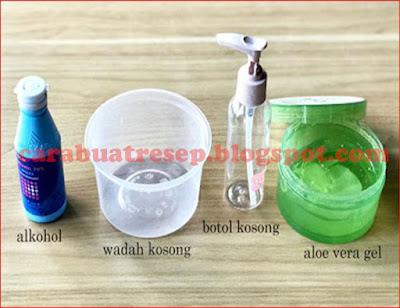 Foto Resep Hand Sanitizer Lidah Buaya (Aloe Vera) Alkohol 70% Sederhana Buatan Sendiri