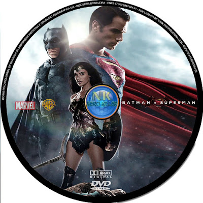 Label DVD Batman VS Superman A Origem Da Justiça