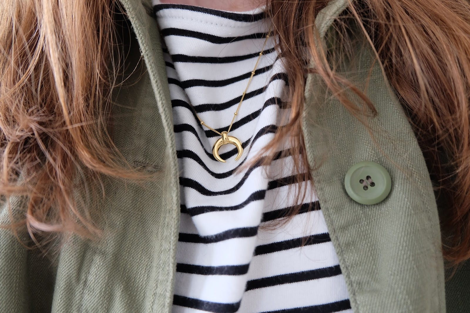 lucy williams x missoma large horn necklace