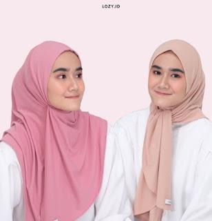 Lozy hijab untuk lebaran dan sehari hari
