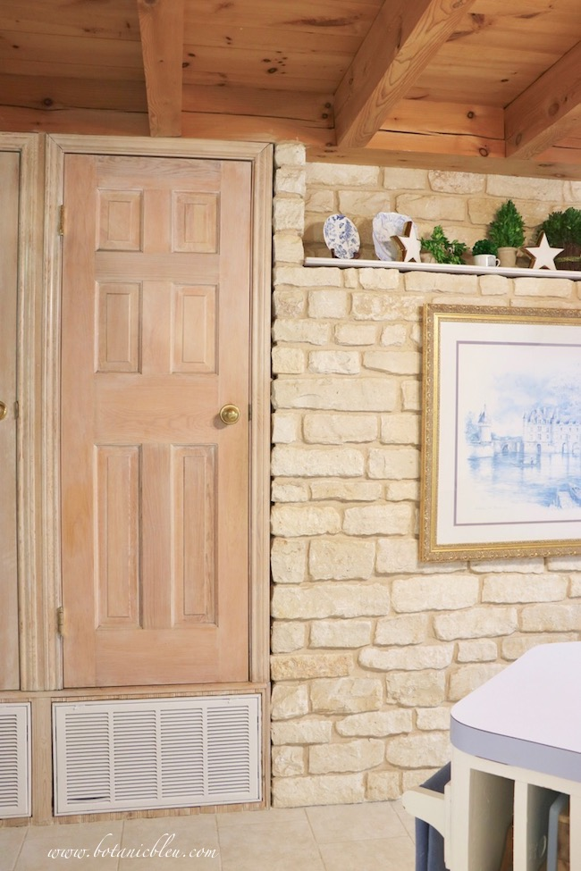 French Country Pantry Makeover in a post and beam country home