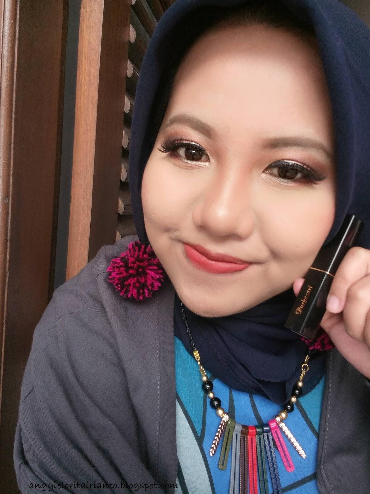 Girls Mind Review Purbasari Lipstick Color Matte In Topaz 86