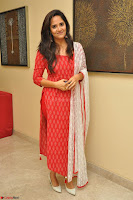 Anasuya Bharadwaj in Red at Kalamandir Foundation 7th anniversary Celebrations ~  Actress Galleries 045.JPG