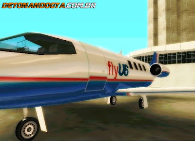 Shamal da Fly US para GTA San Andreas