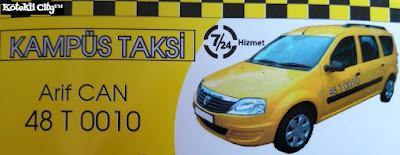 Kampüs Taksi Arif Can Kötekli Menteşe Muğla