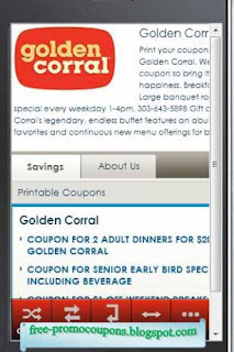 graphic about Coupon for Golden Corral Buffet Printable identify Coupon golden corral cafe - Ola coupon codes december 2018