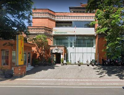 Daftar Lengkap Alamat dan Nomor Telepon Kantor Bank Danamon di Kota Denpasar lengkap dengan rute Google Map :