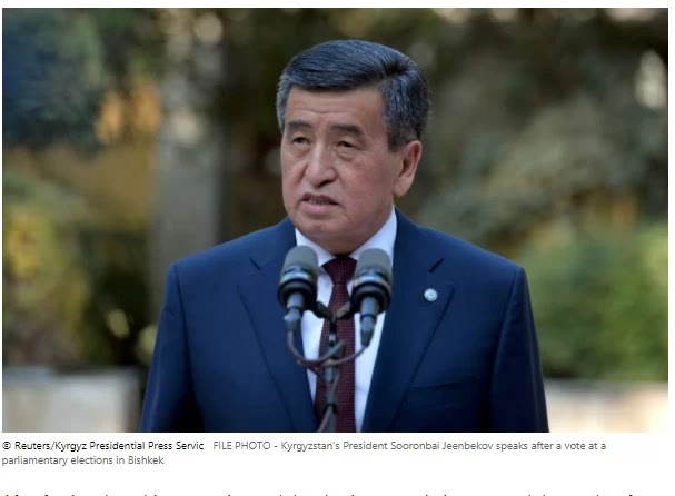 Kyrgyzstan's President says he is ready to resign once a new cabinet is appointed