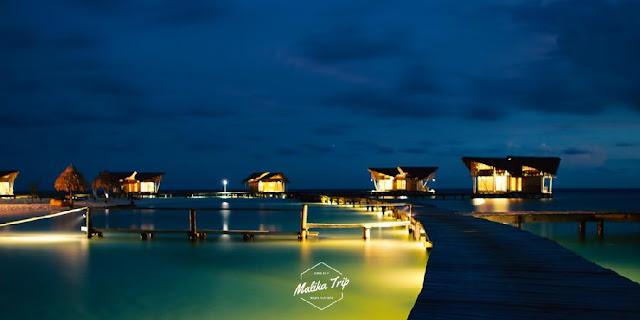 Suasana Malam Pulau Cinta Gorontalo