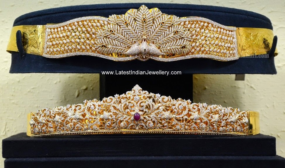 Bridal Diamond Waist Belts Latest Indian Jewellery Designs