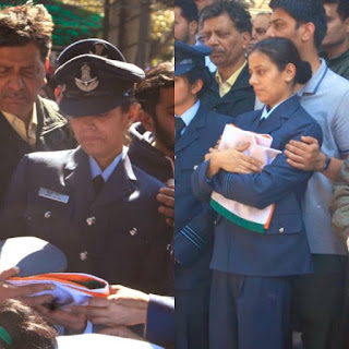 'We don't want war', says widow of second Indian pilot