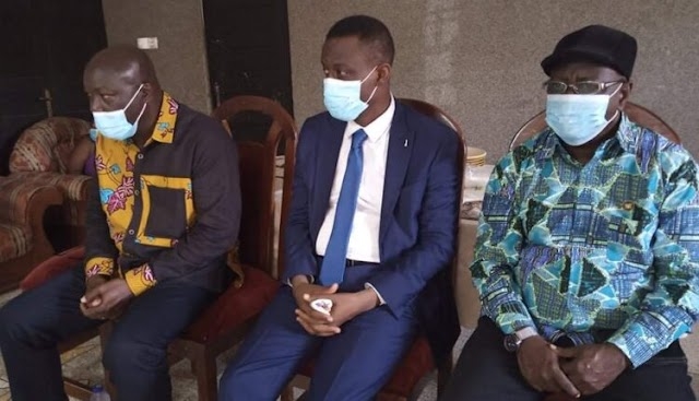 W/R Minister, MCEs visit family of Takoradi armed robbery victims