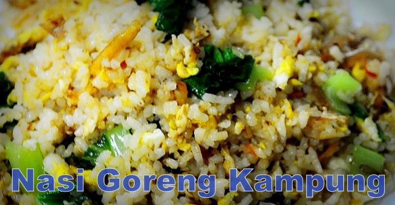 masak nasi goreng kampung ala kampung bmblogr Resepi Nasi Goreng Tanpa Bawang Merah Enak dan Mudah