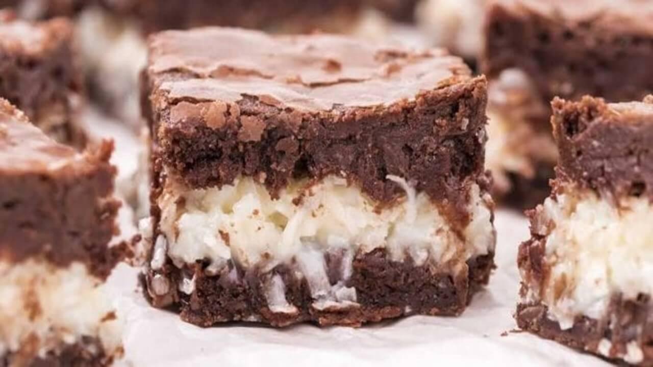 Coconut Brownies Easy Recipe