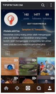 Cara Ganti Tema tampilan Instagram Menjadi Lebih Menarik