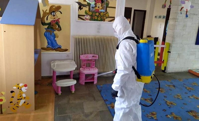 Κορωνοϊός: Προληπτικές απολυμάνσεις από τον Δήμο Αλεξανδρούπολης σε σχολεία και παιδικούς σταθμούς