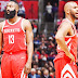 Paul and Harden fire as Rockets roll to sweet 16th